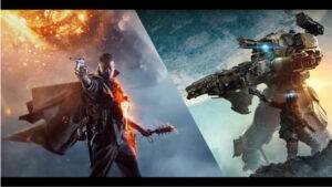 #YoutubersCatalans provant la Beta de Battlefield 1 i la de Titanfall 2