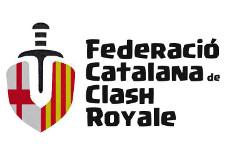 Logotip de la Federació Catalana de Clash Royale