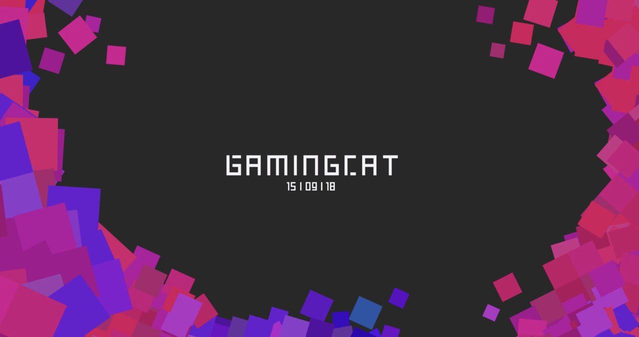 Logotip de la GamingCAT 2018