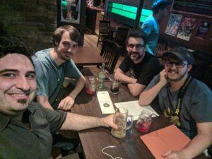 Els socis fundadors de l'Associació GamingCat