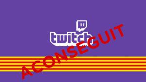 Èxit de la campanya #CatalanLoveTwitch. Twitch ja reconeix el català