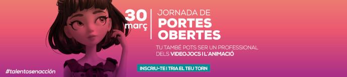 Cartell de la Jornada portes obertes CEV Barcelona (30 de març)