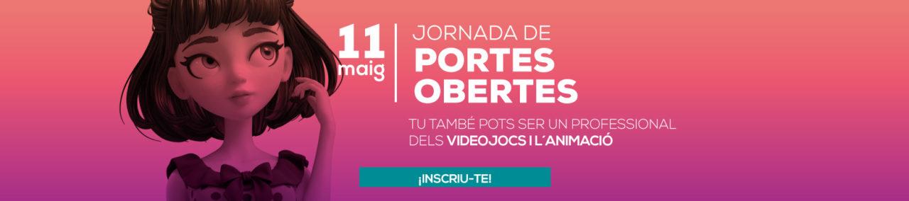 Banner de la jornada de portes obertes maig CEV Barcelona