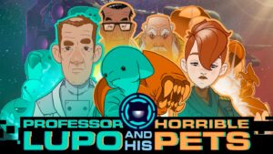 Caràtula de Professor Lupo and his Horrible Pets