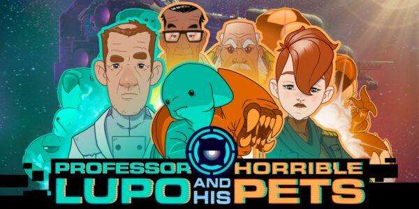 Caràtula de Professor Lupo and his Horrible Pets