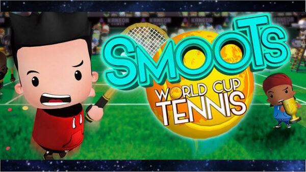Portada del videojoc Smoots World Cup Tennis