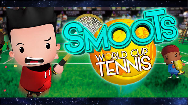 Portada del videojoc Smoots World Cup Tennis