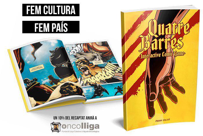 """Imatge de la novel·la gràfica """"Quatre Barres"""""""