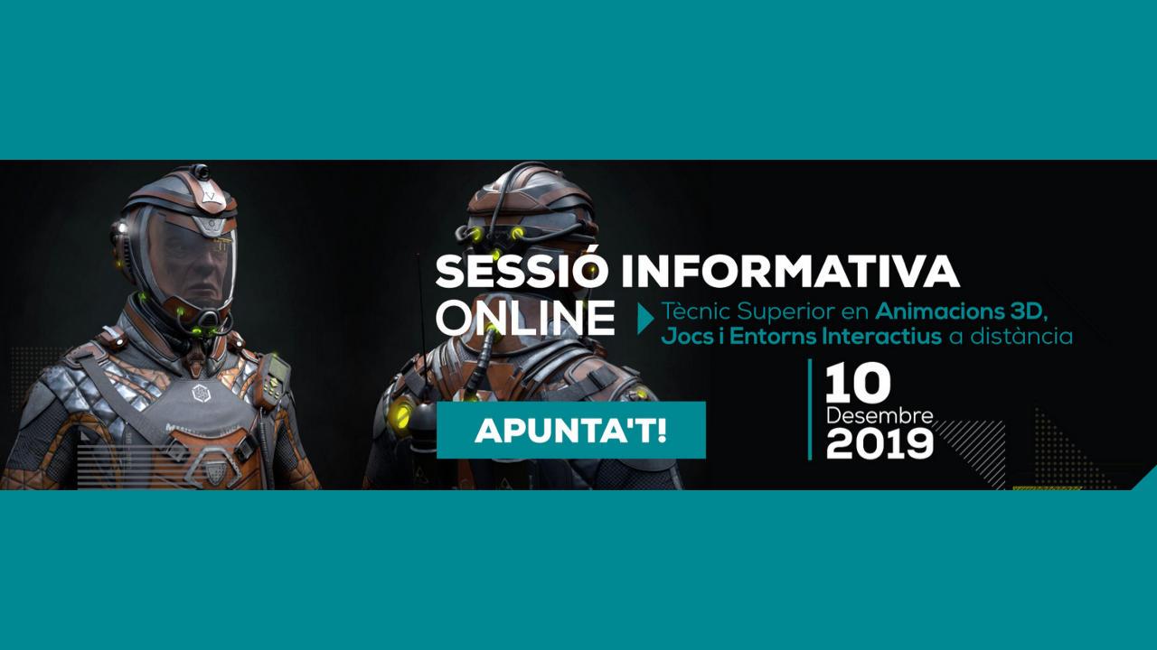 Sessió informativa 10 desembre