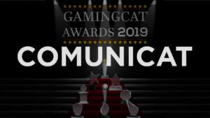 Comunicat sobre els GamingCat Awards 2019
