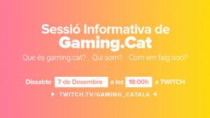 Directe informatiu sobre l'Associació GamingCat
