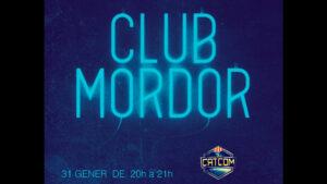 CATCOM al Club Mordor