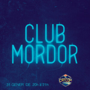Logotip de Club Mordor i CATCOM