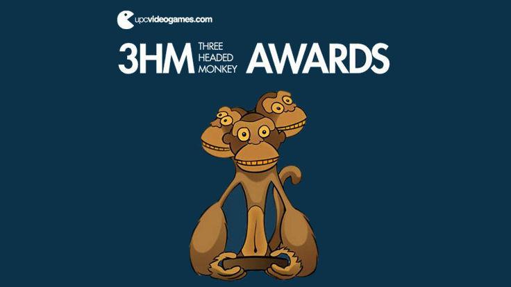 Cartell del concurs de videojocs 3 Headed Monkey Awards