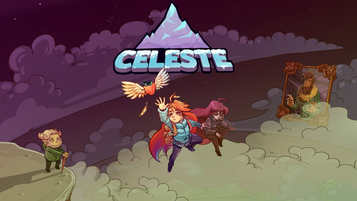 Portada del videojoc Celeste