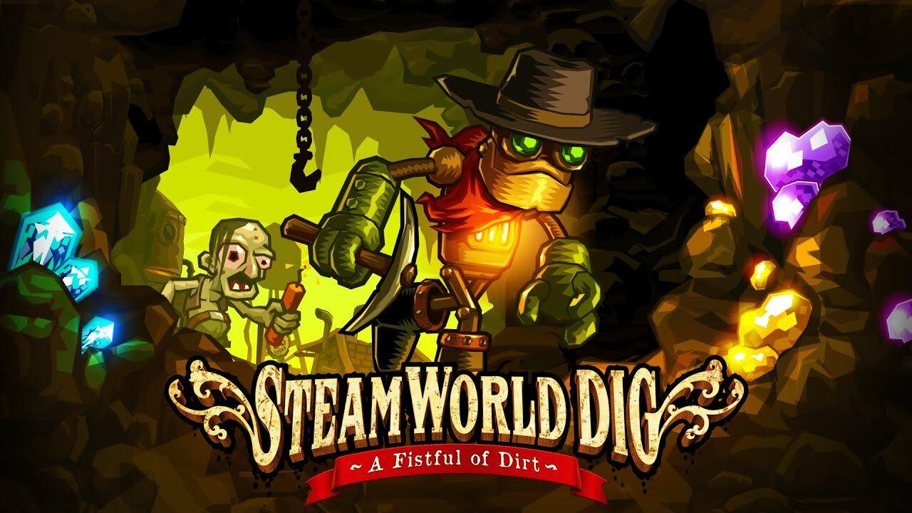 Caràtula del joc Steamworld Dig