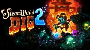 Caràtula del joc Steamworld Dig 2