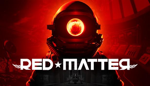 Portada del videojoc en VR Red Matter