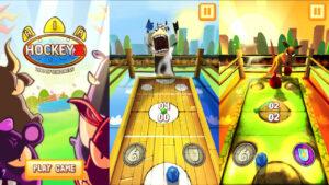 Air HockeyZ: Zoo of Madness