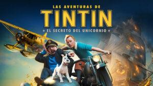 """Portada del joc """"Les aventures de Tintín: el secret de l'Unicorn"""""""