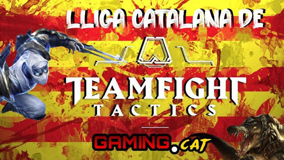 Cartell de la lliga catalana de Teamfight Tactics