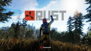 Portada del videojoc Rust