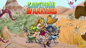 Portada del videojoc Caveman Warriors
