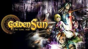Portada del joc Golden Sun: the Lost Age