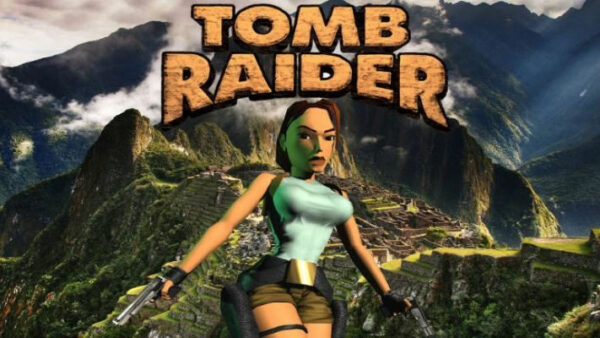 Portada del videojoc Tomb Raider de 1996
