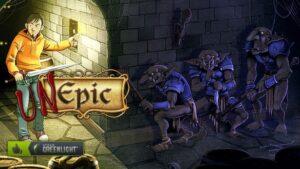 Portada del videojoc Unepic