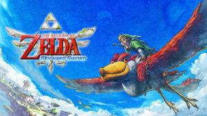 Portada de The Legend of Zelda: Skyward Sword