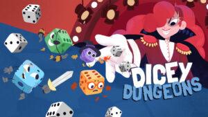 Portada del joc Dicey Dungeons