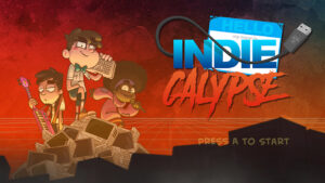 Portada del joc Indiecalypse