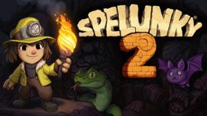 Portada del joc Spelunky 2