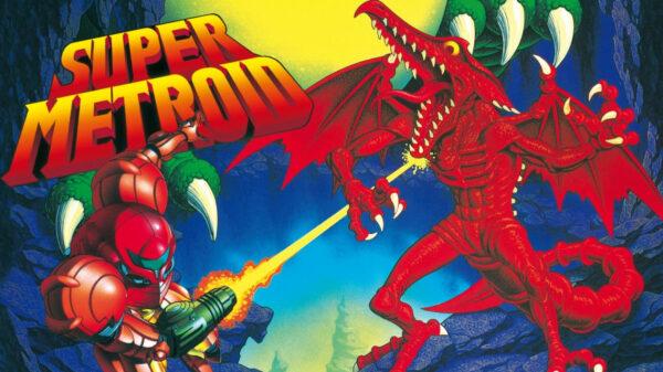 Portada del videojoc Super Metroid