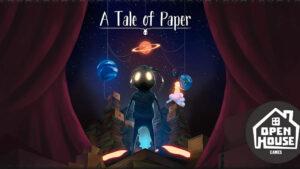 Portada del videojoc A tale of paper