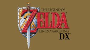 Logotip del joc The Legend of Zelda: Link's Awakening DX