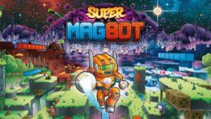 Portada del videojoc Super Magbot
